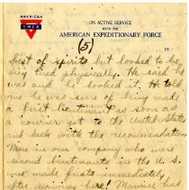 Image of 105_1982.202.1_charles Stevenson To Family_august 23, 1918_page 17