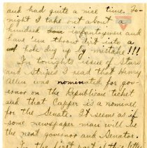 Image of 105_1982.202.1_charles Stevenson To Family_august 23, 1918_page 18