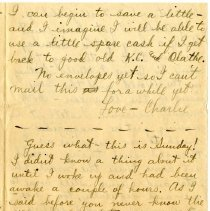 Image of 105_1982.202.1_charles Stevenson To Family_august 23, 1918_page 19