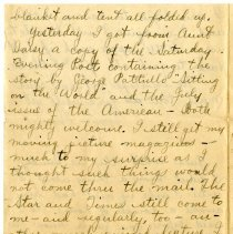 Image of 105_1982.202.1_charles Stevenson To Family_august 23, 1918_page 20