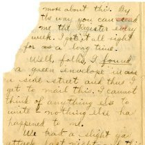Image of 105_1982.202.1_charles Stevenson To Family_august 23, 1918_page 22