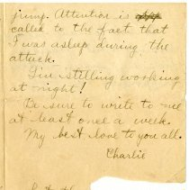 Image of 105_1982.202.1_charles Stevenson To Family_august 23, 1918_page 23