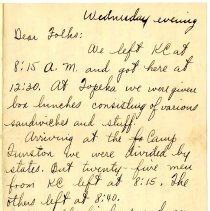 Image of 001_1982.202.1_charles Stevenson To Family_september 7, 1917_page 01