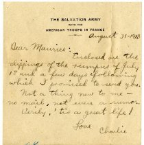 Image of 107_1982.202.1_charles Stevenson To Maurice Stevenson (brother)_august 31,