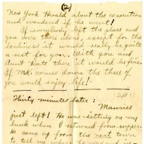 Image of 108_1982.202.1_charles Stevenson To Family_september 2, 1918_page 03