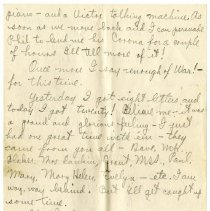 Image of 110_1982.202.1_charles Stevenson To Family_september 18, 1918_page 04