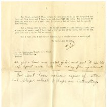 Image of 115_1982.202.1_charles Stevenson To Grandparents_october 1, 1918_page 03