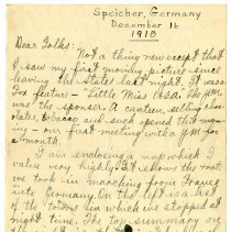 Image of 137_1982.202.1_charles Stevenson To Family_december 16, 1918_page 01