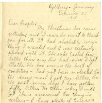 Image of 142_1982.202.1_charles Stevenson To Family_december 27, 1918_page 01