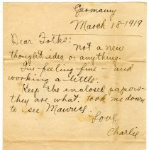 Image of 179_1982.202.1_charles Stevenson To Family_march 18, 1919_page 01