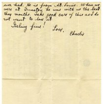 Image of 180_1982.202.1_charles Stevenson To Family_march 22, 1919_page 02