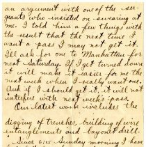 Image of 021_1982.202.1_charles Stevenson To Daisy (aunt)_october 8, 1917_page 02