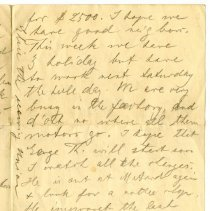 Image of 070_1982.279.35_father To George Rehn_july 1, 1919_page 03