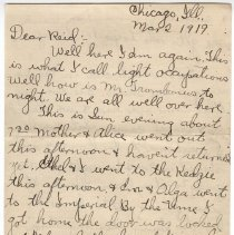 Image of 180_2015.162.4_clara Wrasse To Reid Fields_march 2, 1919_page 01