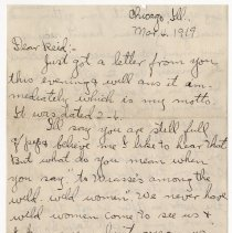 Image of 181_2015.162.4_clara Wrasse To Reid Fields_march 4, 1919_page 01