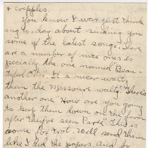 Image of 181_2015.162.4_clara Wrasse To Reid Fields_march 4, 1919_page 05