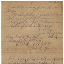 Image of 183_2015.162.4_reid Fields To Parents_march 8, 1919_page 06