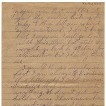 Image of 185_2015.162.4_reid Fields To Clara Wrasse_march 9, 1919_page 02