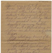 Image of 185_2015.162.4_reid Fields To Clara Wrasse_march 9, 1919_page 04