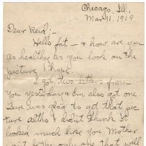 Image of 186_2015.162.4_clara Wrasse To Reid Fields_march 11, 1919_page 01