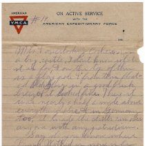 Image of 189_2015.162.4_reid Fields To Parents_march 16, 1919_page 03