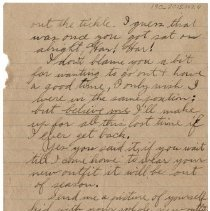 Image of 190_2015.162.4_reid Fields To Clara Wrasse_march 16, 1919_page 04