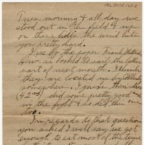 Image of 191_2015.162.4_reid Fields To Parents_march 22, 1919_page 04