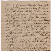 Image of 192_2015.162.4_reid Fields To Clara Wrasse_march 24, 1919_page 02