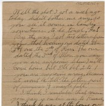 Image of 195_2015.162.4_reid Fields To Clara Wrasse_march 31, 1919_page 04