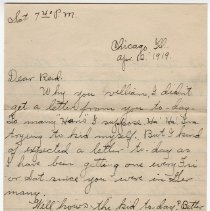 Image of 200_2015.162.4_clara Wrasse To Reid Fields_april 12, 1919_page 01