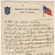 Image of 202_2015.162.4_reid Fields To Clara Wrasse_april 18, 1919_page 05