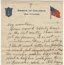 Image of 202_2015.162.4_reid Fields To Clara Wrasse_april 18, 1919_page 07