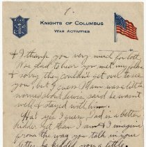 Image of 202_2015.162.4_reid Fields To Clara Wrasse_april 18, 1919_page 09