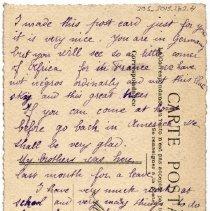 Image of 205_2015.162.4_elisabeth Hochereau To Reid Fields_april 1919_page 01