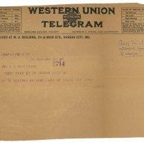 Image of 2005.14.3a - Telegram