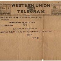 Image of 2005.14.3b - Telegram