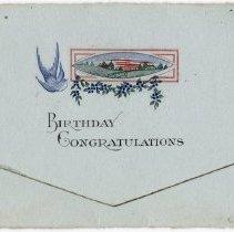 Image of 2015.162.31 - Card, Greeting