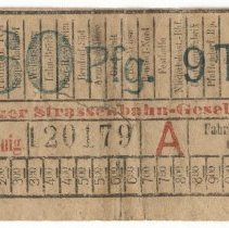 Image of 2006.23.27 - Ticket, Transportation