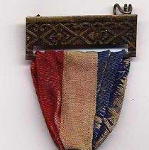 Image of Volunteer Firemen's Memorial dedication commemorative medal, 1891. - Medal, Commemorative