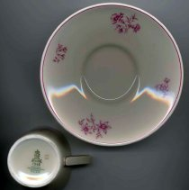 Image of cup base + saucer