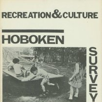 Image of Hoboken Survey: Recreation & Culture. Hoboken Model Cities Program, Hoboken, no date, ca. 1971. - Pamphlet