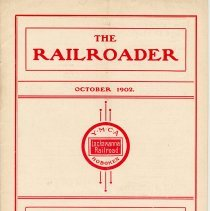 Image of Railroader, The. Vol. XII, No. 9, Oct., 1902. Published by the Rail Road Department, Young Men's Christian Association, Hoboken, N.J. - Periodical