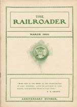 Image of Railroader, The. Vol. XIII, No. 3, March, 1903. Published by the Rail Road Department, Young Men's Christian Association, Hoboken, N.J. - Periodical