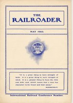 Image of Railroader, The. Vol. XIII, No. 5, May, 1903. Published by the Rail Road Department, Young Men's Christian Association, Hoboken, N.J. - Periodical