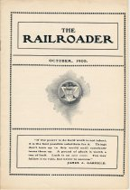 Image of Railroader, The. Vol. XIII, No. 10, Oct., 1903. Published by the Rail Road Department, Young Men's Christian Association, Hoboken, N.J. - Periodical