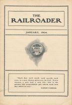 Image of Railroader, The. Vol. XIV, No. 1, Jan., 1904. Published by the Rail Road Department, Young Men's Christian Association, Hoboken, N.J. - Periodical