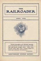 Image of Railroader, The. Vol. XIV, No. 4, April, 1904. Published by the Rail Road Department, Young Men's Christian Association, Hoboken, N.J. - Periodical