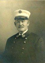 Image of B+W photo of John J. Gilday, Chief of Fire Department, Hoboken, N.J., Hoboken, 1921. - Print, Photographic