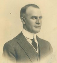 Image of B+W photo of Bernard M. McFeely, Commissioner of Public Safety, Hoboken, N.J., 1921. - Print, Photographic