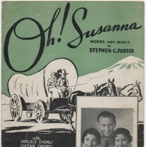 Image of Sheet music: Oh! Susanna by Stephen Foster. - Music, Sheet